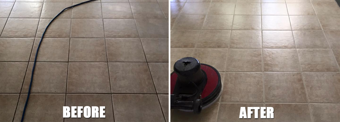 Grout Recoloring - Martins All Floors Service